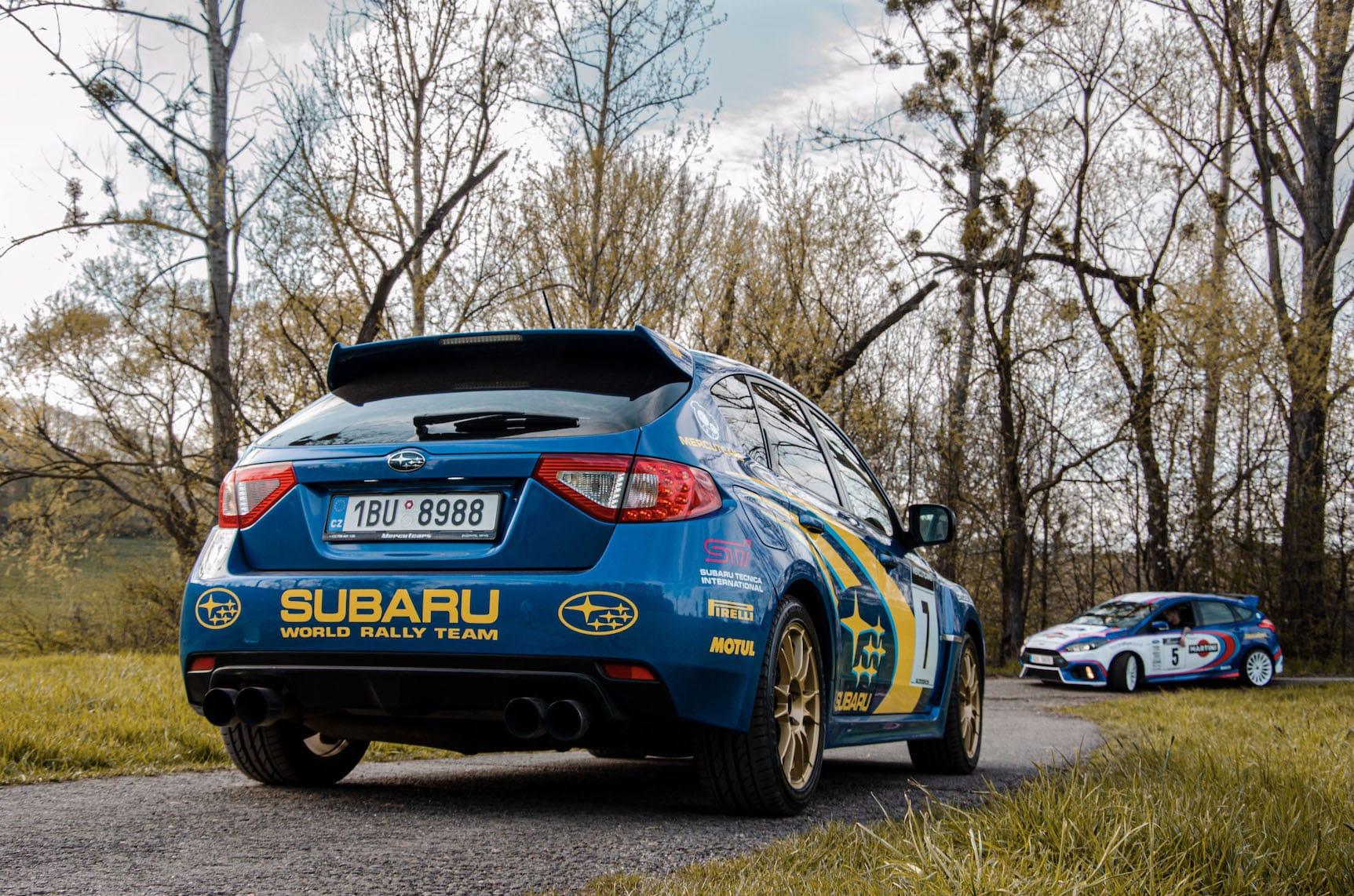Subaru WRX STi 4